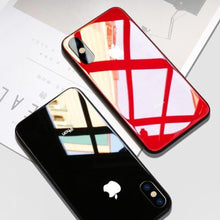 Load image into Gallery viewer, iPhone XR Glass Back Case + Tempered Glass + Camera Lens Guard