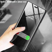 Load image into Gallery viewer, Galaxy Note 20 Mirror Clear View Flip Case [Non Sensor Working]