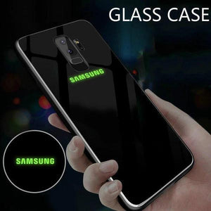 Galaxy S9 Radium Case + Tempered Glass + Earphones