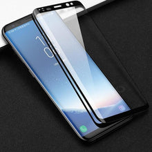 Load image into Gallery viewer, Galaxy S9 (3 in 1 Combo) Glass Back Case + Tempered Glass + Earphones
