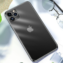 Load image into Gallery viewer, Apple iPhone (3 in 1 Combo) Matte Glass Case + Tempered Glass + Camera Lens Protector