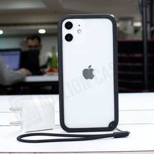 iPhone 12 Pro Durable Bumper Frame with Wrist Straps