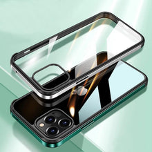 Load image into Gallery viewer, iPhone 12 Pro Max Luxury Square Metal Frame case