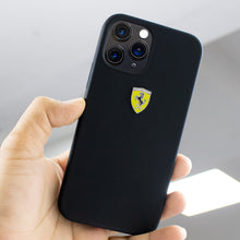Load image into Gallery viewer, Ferrari ® iPhone 12 Pro Rigid Smooth Sleek Silicone Case
