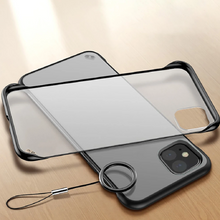 Load image into Gallery viewer, iPhone 11 Pro Max - Frameless Matte Case + Tempered Glass + Camera Lens Protector