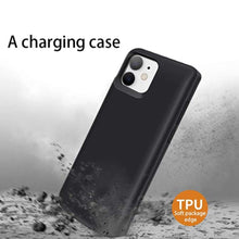 Load image into Gallery viewer, JLW ® iPhone 11 Portable 6000 mAh Battery Shell Case