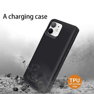 JLW ® iPhone 11 Portable 6000 mAh Battery Shell Case
