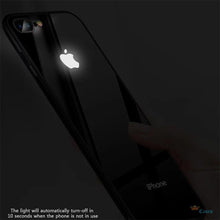 Load image into Gallery viewer, LEKE ® iPhone 7 Plus LED Light Apple Logo Glass Back Case