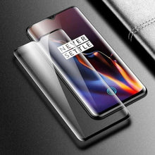 Load image into Gallery viewer, OnePlus 7T (3 in 1 Combo) Mirror Flip Case + Tempered Glass + Camera Lens Guard