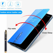 Load image into Gallery viewer, OnePlus Nord Mirror Clear View Flip Case [Non Sensor Working]