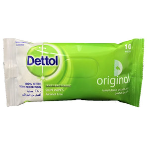 Dettol Anti-Bacterial Wipes 10's