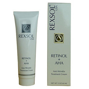 Rexsol Retinol+AHA Anti-Wrinkle Treatment Cream 60 mL
