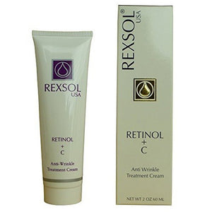 Rexsol Retinol+ C Anti-Wrinkle Treatment Cream 60 mL