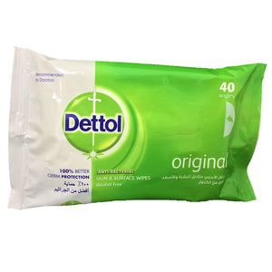 Dettol Anti-Bacterial Wipes 40's