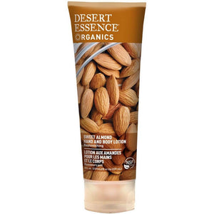 Desert Essence Sweet Almond Hand and Body Lotion 237 mL