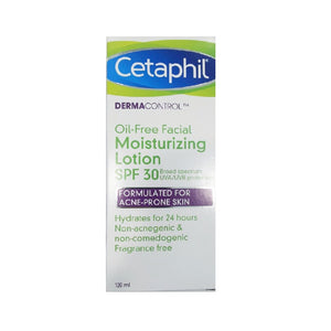Cetaphil Derma Control Oil-Free Facial Moisturizing Lotion SPF30 120 mL