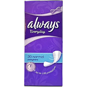 Always Panty Liners Normal 20's