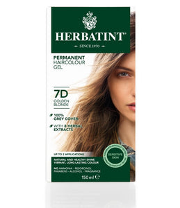 Herbatint 7D Golden Blonde Hair Colour Gel 150 mL