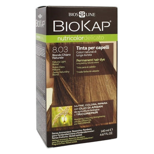Biokap Nutricolor Delicato 8.03 Natural Light Blond 140 mL