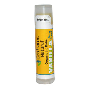 Grahams Natural Organic Lip Balm Vanilla