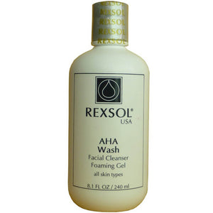 Rexsol AHA Wash Facial Cleanser 240 mL