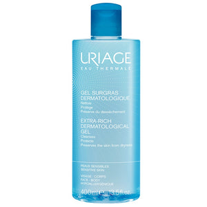 Uriage Surgas Liquide Dermatologique Foaming Gel 400ML