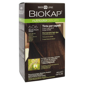 Biokap Nutricolor Delicato 6.06 Dark Blond Havana 140 mL