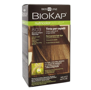 Biokap Nutricolor Delicato+ 8.03 Natural Light Blond 140 mL