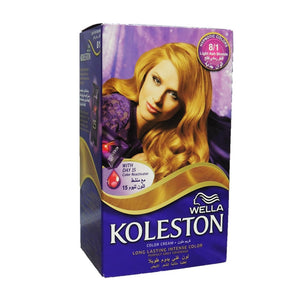 Wella Koleston Color Cream Light Ash Blonde 8-1