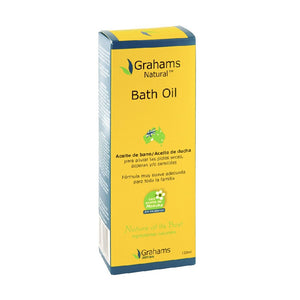 Grahams Natural Bath Oil 120 mL