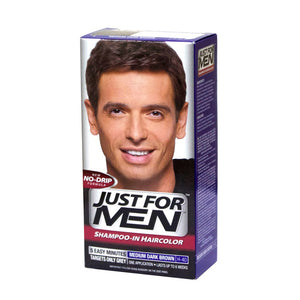 Just For Men Medium Dark Brown Shampoo-In Haircolor