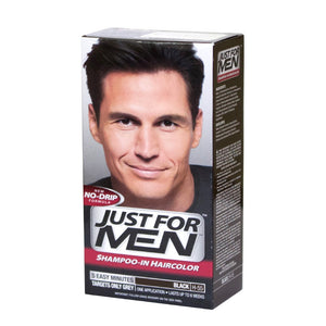 Just For Men Black Shampoo-In Haircolor