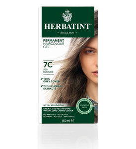 Herbatint 7C Ash Blonde Hair Colour Gel 150 mL