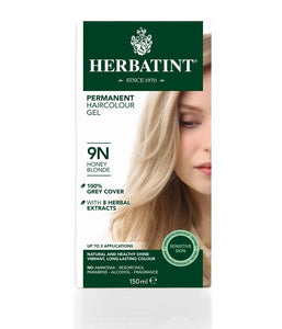 Herbatint 9N Honey Blonde Hair Colour Gel 150 mL