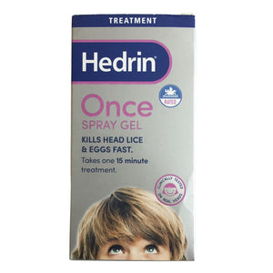Hedrin Once Spray Gel 60 mL