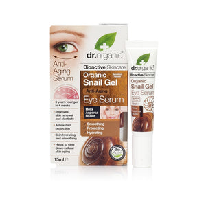 Dr Organic Snail Gel Eye Serum 15 mL