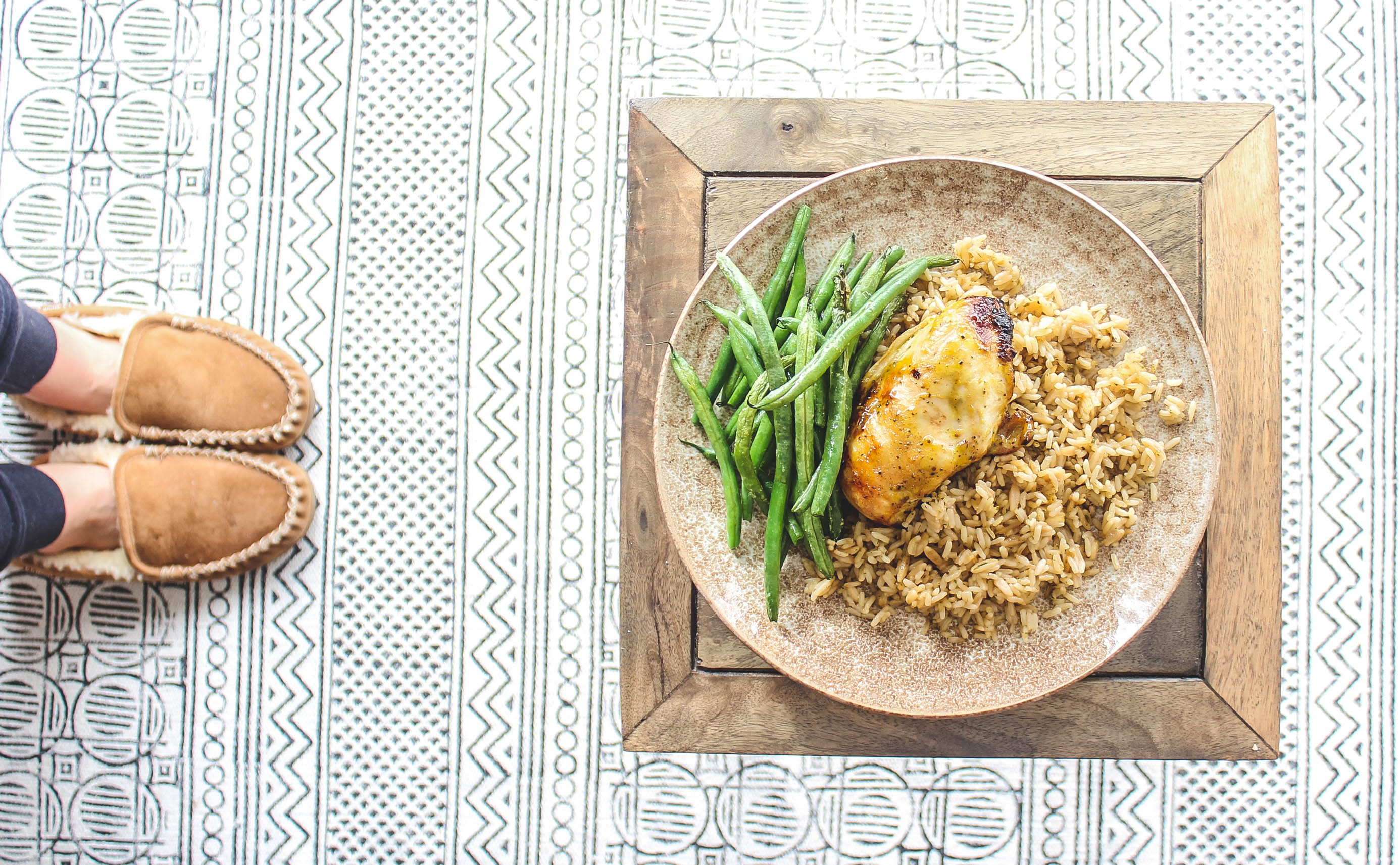 Honey Dijon Chicken & Rice Pilaf