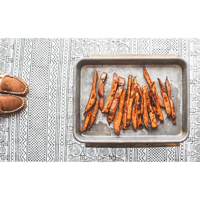 AirCrisped Sweet Potato Fries