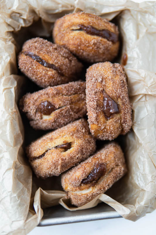 AirCrisp Apple Butter Donuts