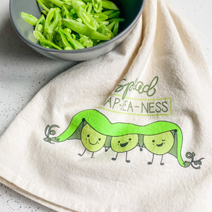 Spread HAP-PEA-NESS Tea Towel