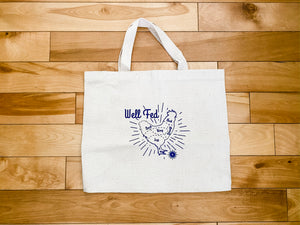 Well Fed Natural Totes