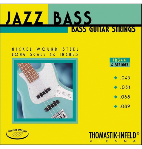 Thomastik-Infeld JR344 T-I Jazz Rounds Bass Guitar Strings - Long Scale