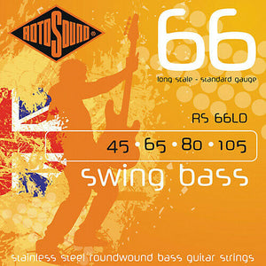 Rotosound RS66LD Swing Bass 66 Bass Guitar Strings - Standard Gauge