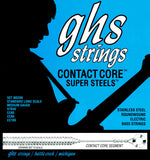 GHS M5200 Contact Core Super Steels Bass Guitar Strings 45-105