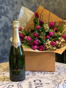 Mother's Day - Champagne & Bouquet Bundle