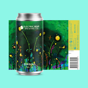 Electric Bear - Zorbing - Gluten Free Pale Ale