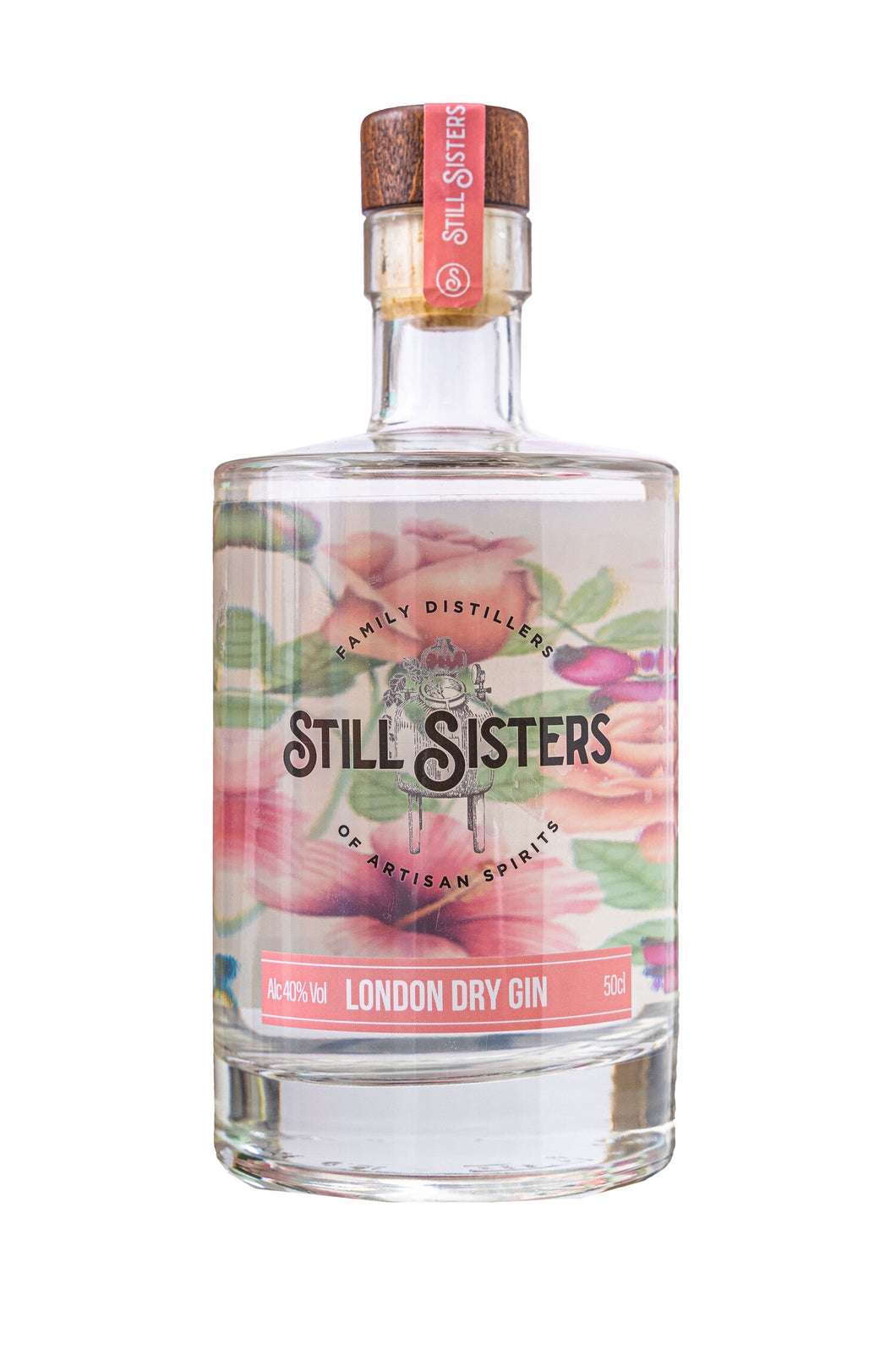 Still Sisters Rose & Hibicus London Dry Gin