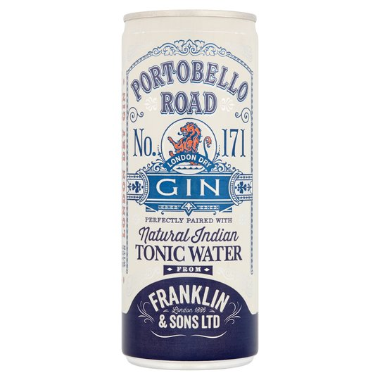 Portobello Road Gin & Tonic