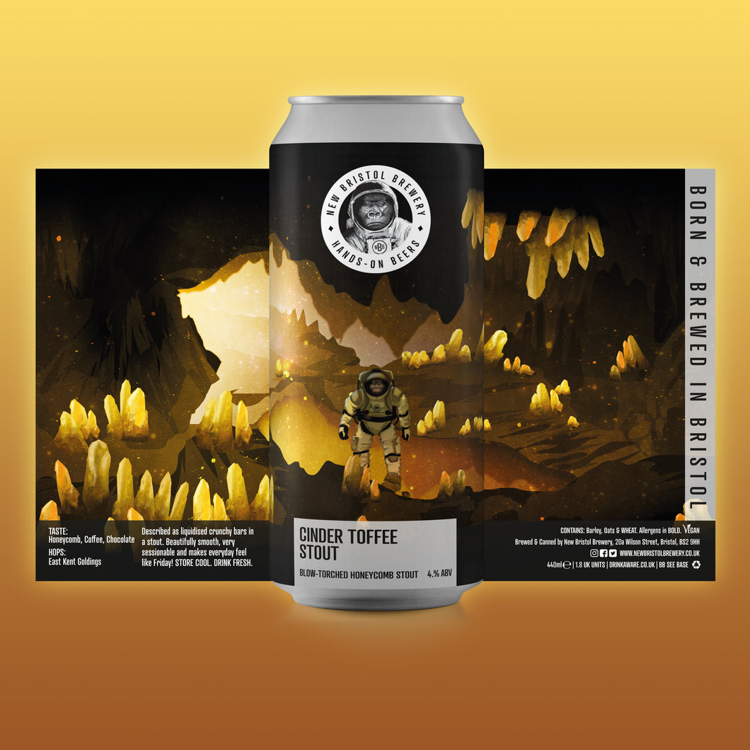 New Bristol - Cinder Toffee Stout