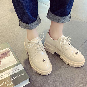 Cross-tied round head casual Women Flats - Saving Trend